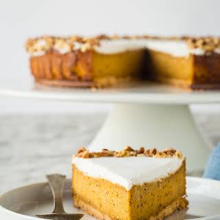 """Gluten Free """"Carrot Cake"""" Vegan Cheesecake {Paleo}."""