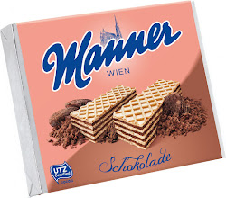 Manner Chocolate Cream Filled Wafers - 75g