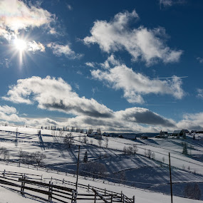 Maguri-Racatau Cluj RO by Paul Voie - Landscapes Mountains & Hills ( blue sky, january, hills, winter, shadows, sunny,  )