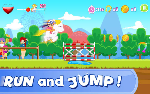 Pony Ride With Obstacles 5 screenshots 2