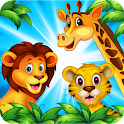 Wild Animals for Toddlers icon