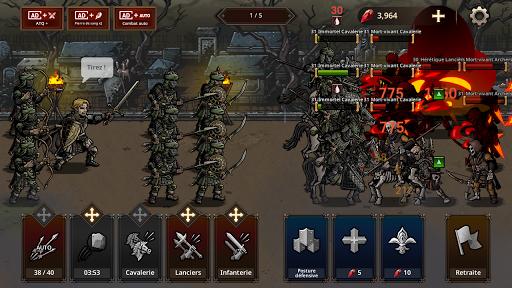 Code Triche King's Blood: La Défense apk mod screenshots 3