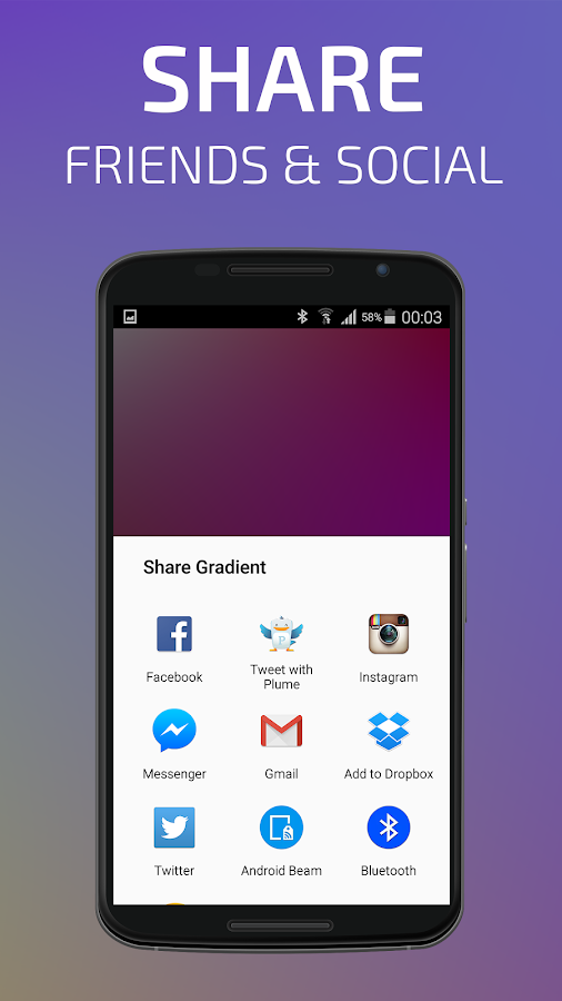 °Gradients Touch- screenshot