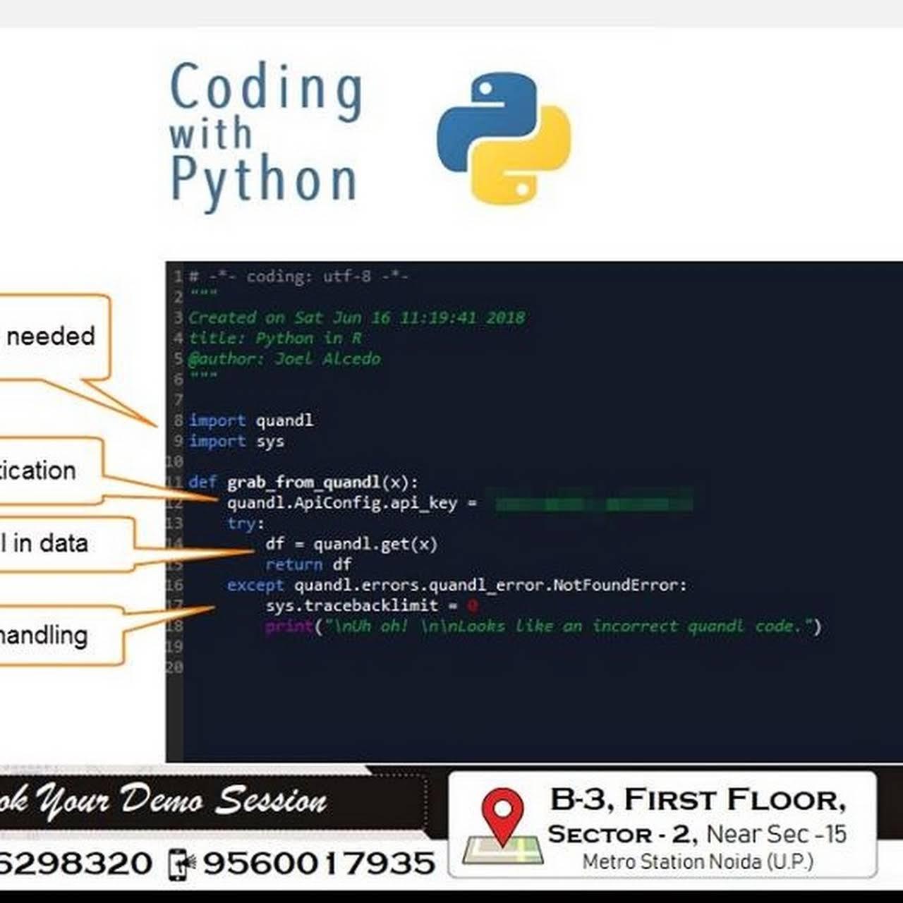 Python Training Institute in Noida | ITSparkDS - Training Centre in