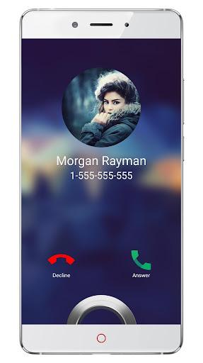 Call screen themes: Full screen caller id screenshots 1
