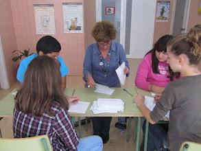 Photo: Realitzant l'escrutini de vots