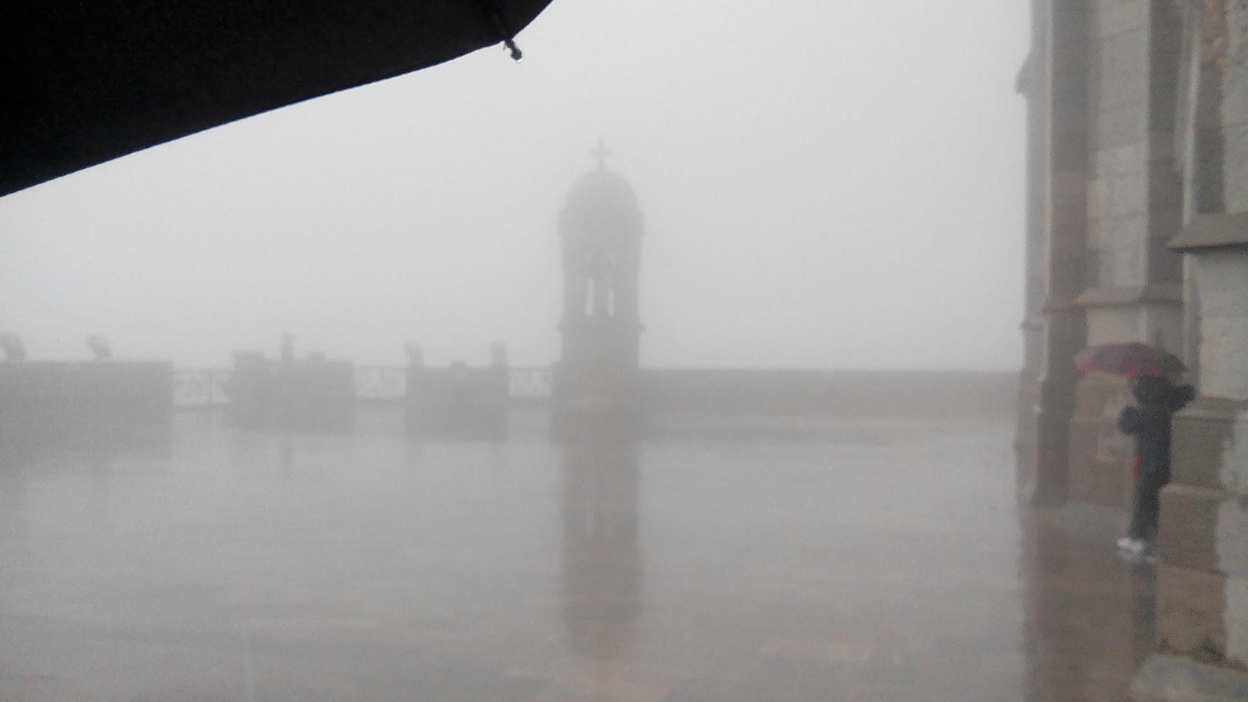Дождь на Тибидабо
