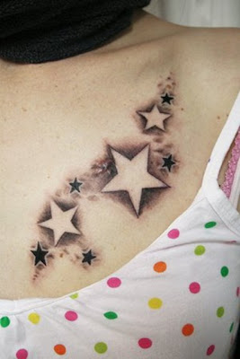 Small star tattoo sketches