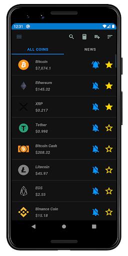 Crypto Tracker - Cryptocurrencies news & portfolio screenshot 1
