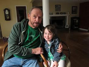 Photo: Fianna with Papa Russ