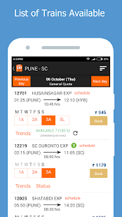 Railway PNR Status Prediction & Train Status- screenshot thumbnail
