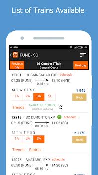 PNR Status Prediction IRCTC and Train Info -Trainman