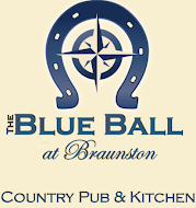 Logo for The Blue Ball at Braunston Restaurant and Pub in Oakham, Rutland