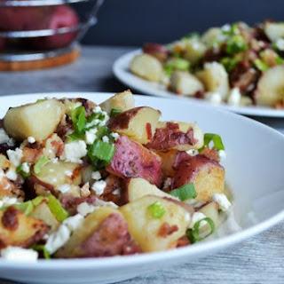 Bacon Feta Pan Potatoes