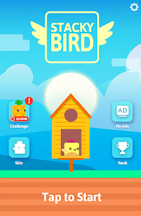 Stacky Bird: Hyper Casual Flying Birdie Game 9