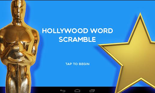 Hollywood Word Scramble - náhled
