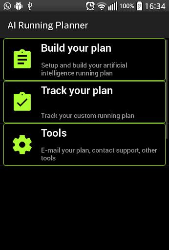 AI Running Planner 10k 15k 21k