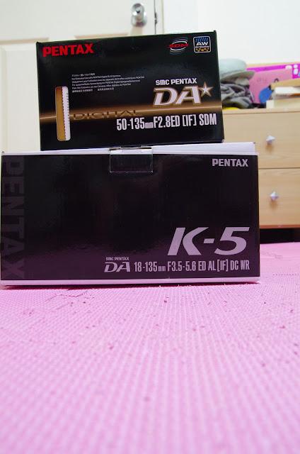 K5+DA*50-135同天入手