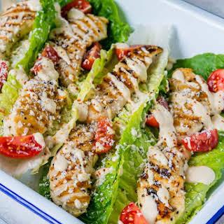 Grilled Chicken Caesar Wraps.