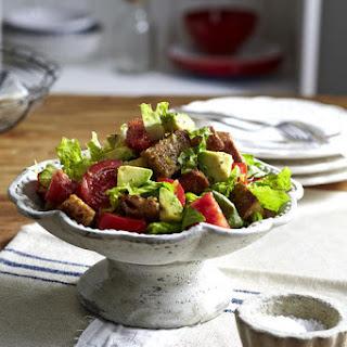 Tomato and Avocado Salad.