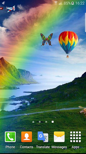 虹アニメーションの壁紙