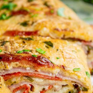 Classic Stromboli Recipe (Easy Dinner or Quick Appetizer!).