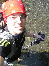 Photo: Wanderung mit Flussueberquerungen (war aber eh schoen warm)