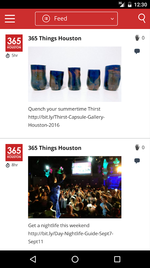 365 Things to Do in Houston- screenshot