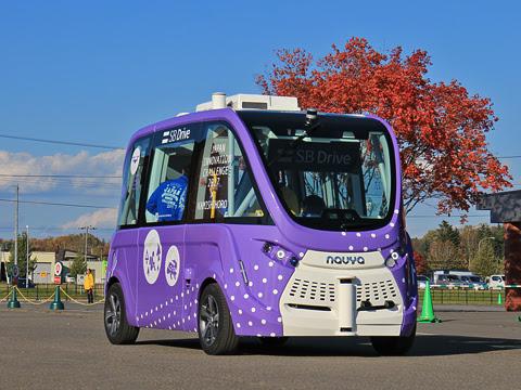 上士幌 自動運転バス実証実験_14