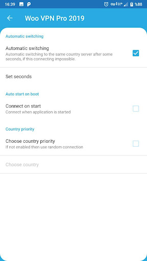 Woo VPN Pro Free 2019 screenshot 8