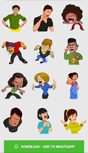 Stickers For Chat - Third Party WAStickerApps sgn_Jan14_2019 screenshots 7