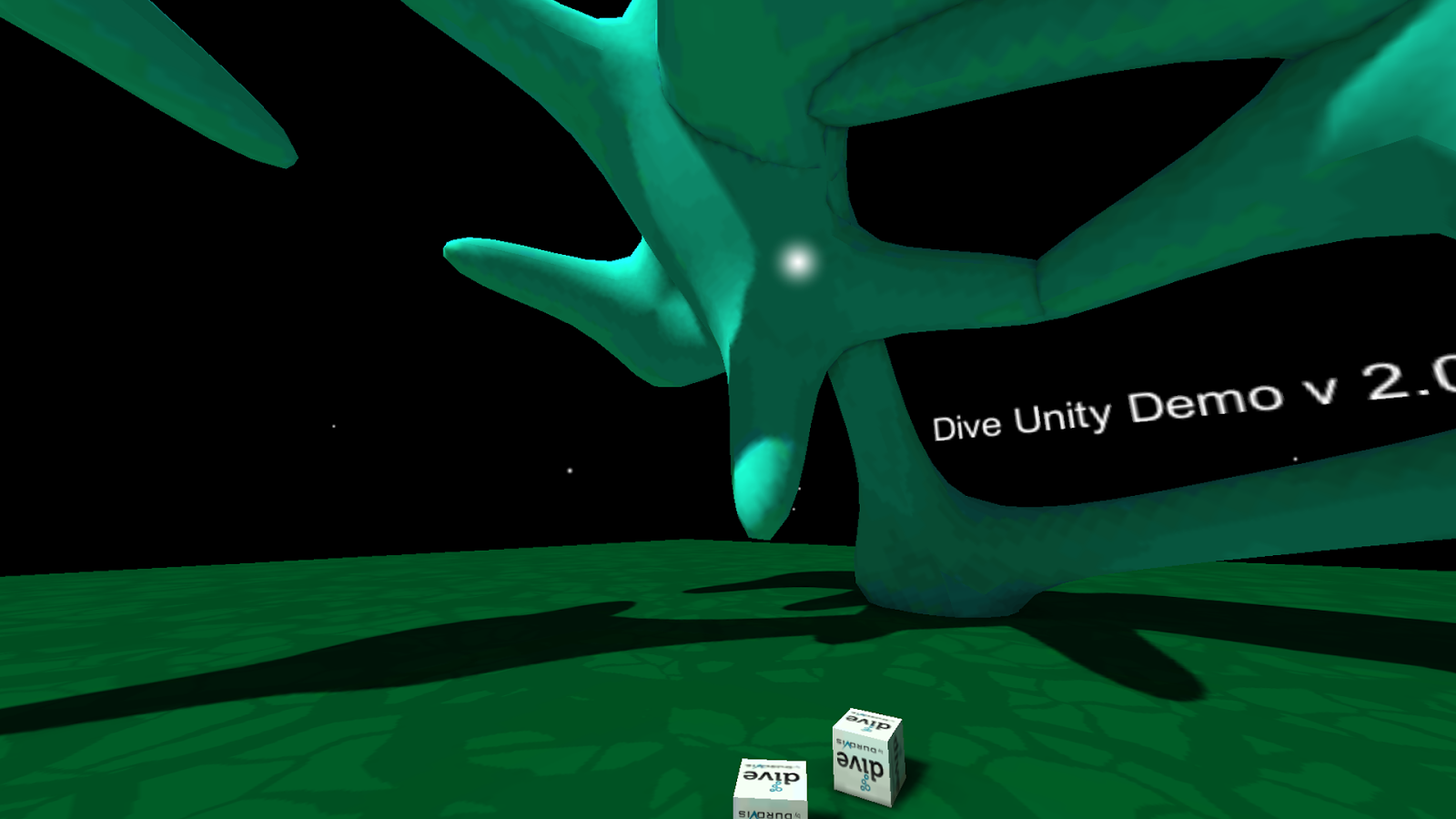 Dive Unity Demo- screenshot