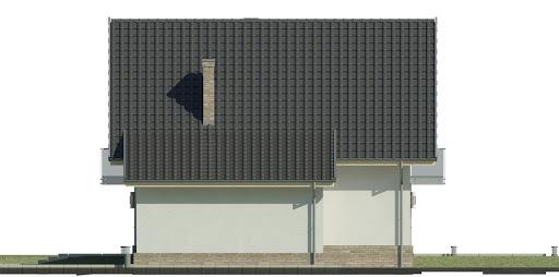 Dom przy Oliwkowej 3 NH - Elewacja prawa