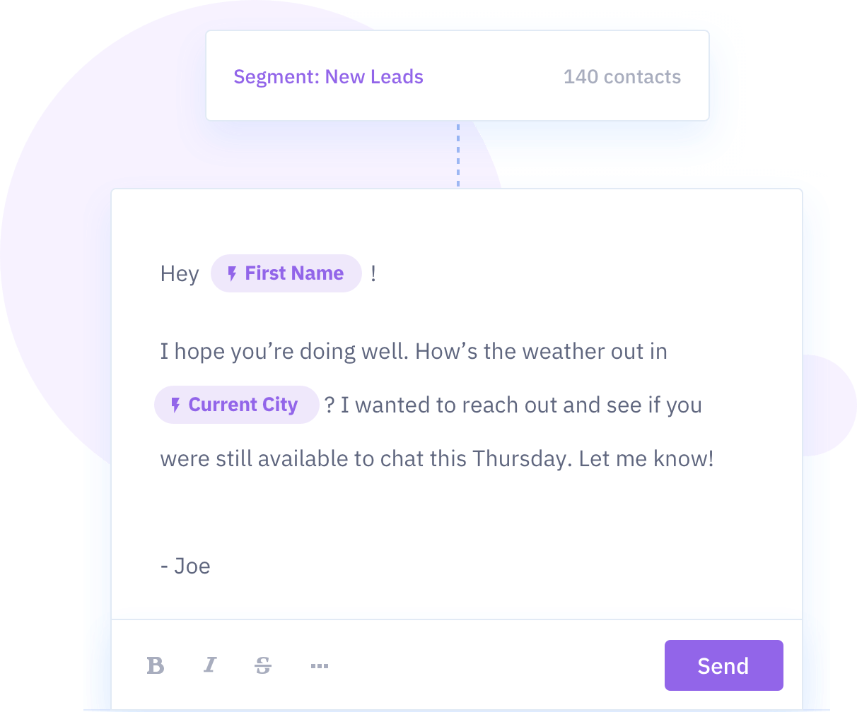 ActiveCampaign's email editor