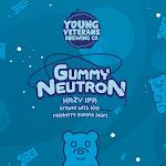 Young Veterans: Gummy Neutron Hazy IPA with Blue Raspberry Gummy Bears