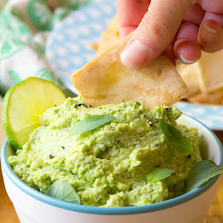 Creamy Avocado Edamame Hummus Recipe