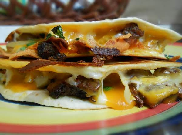 Steak & Potato Quesadilla Recipe