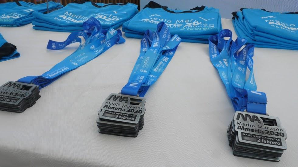 Las medallas de la XXIII Media Maratón.