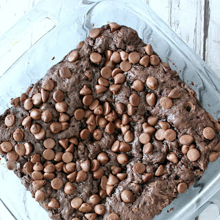 Triple Chocolate Pudding Dump Cake.