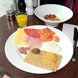 breakfast at the Scandic Vulkan Hotel in Oslo, Oslo, Norway