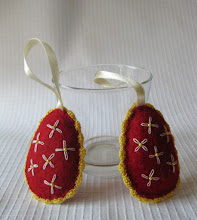 Photo: Húsvéti tojások filcből