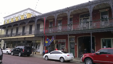Photo: facades in Natchitoches