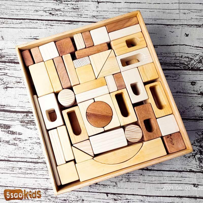 Sản phẩm đồ chơi xếp hình bằng gỗ rất đẹp từ 5saokid