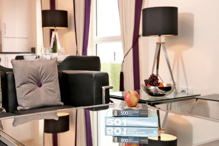 living space at Luxury Aberdeen Airport Accommodation