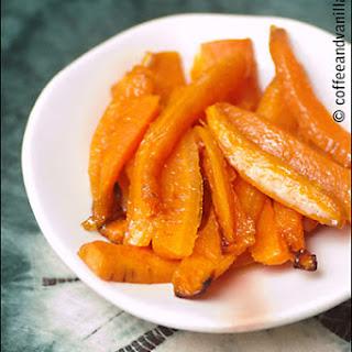 Crunchy Sesame & Ginger Honey Glazed Carrots
