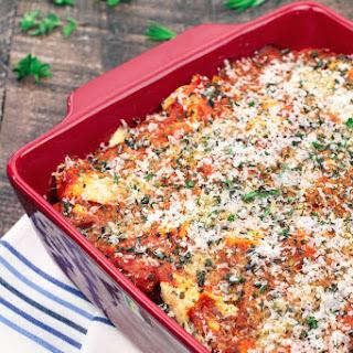 Chicken Parmesan Lasagna Bake