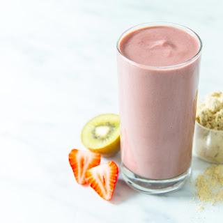 Kiwi Smoothie With Yogurt Recipes.