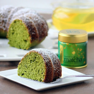 Amazing Green Tea Cake.