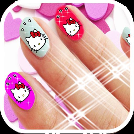 Hello Kitty Nail Art Salon