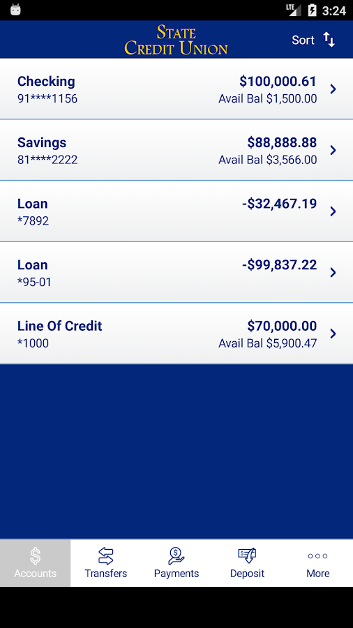 The State Credit Union- screenshot
